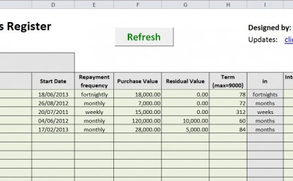 Sheet 1 – Data Entry
