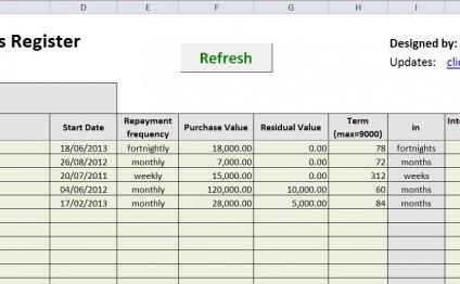 Sheet 1 – Data Entry