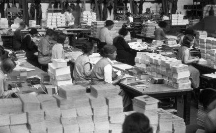 Mail merge anno 1932