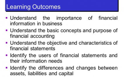 Of financial accounting
