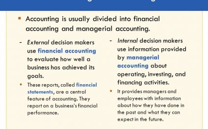 Financial and Managerial