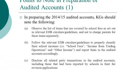 Of Audited Accounts (1)