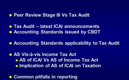 Stage Vs Tax Audit Tax