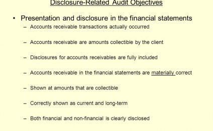 Financial statements Accounts