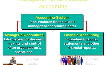 Managerial versus Financial Accounting