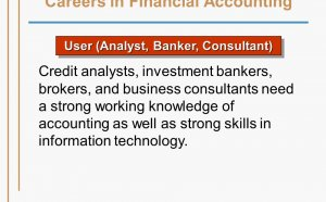 Careers in Financial Accounting