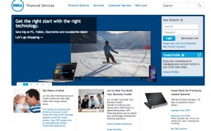 Dell Financial account