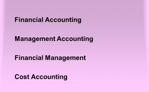 Financial Accounting Management Accounting