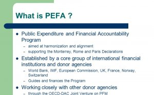 Public Expenditure and Financial Accountability