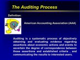 Audit Accounting definition