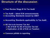 Audit VS tax Accounting