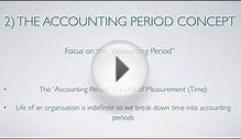 Accounting Concepts and Principles: Accounting Basics and