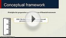 Conceptual framework and purpose of financial reporting
