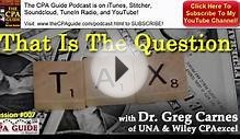 CPA Guide Podcast 007: To Tax Or Audit? That Is The Question!