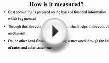 Difference Between Cost Accounting and Financial Accounting