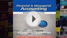 Download PDF Financial Managerial Accounting FULL FREE