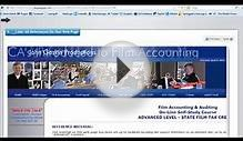 Film Accounting and Auditing - Advanced Level (State Film