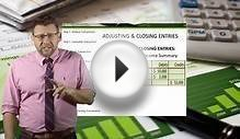 Financial Accounting: Adjusting & Closing Entries to