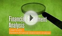 Financial Accounting - Financial Statement Analysis