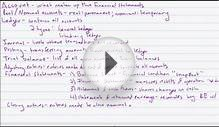 Financial Accounting Lesson 6 - Accounting Equation and