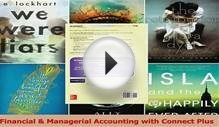 Financial Managerial Accounting with Connect Plus Download