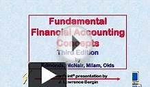 Fundamental Financial Accounting Concepts Third Edition by