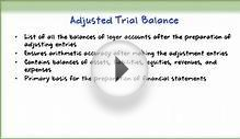How to Prepare Financial Statements from Adjusted Trial
