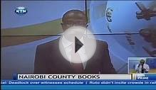 Nairobi County Books of accounts not audited in the last