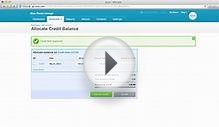 Purchase credit notes with Xero accounting software