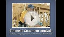 What is Financial Statement Analysis: Trend Analysis