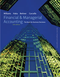 Williams Financial and Managerial Accounting 16e Large Cover